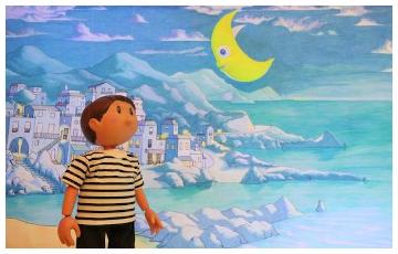 spectacle : Léo le pêcheur de lune